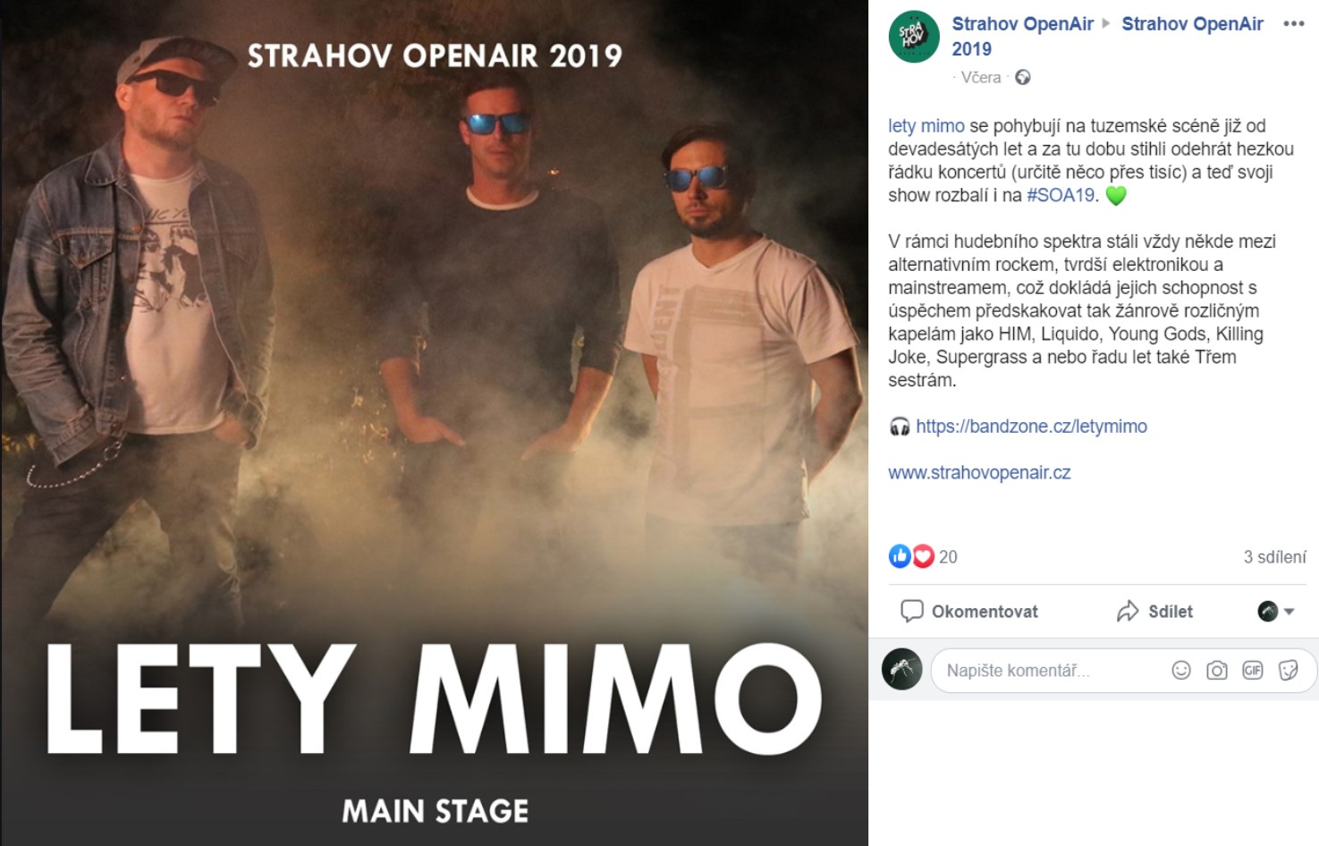 Srahov Open Air 2019